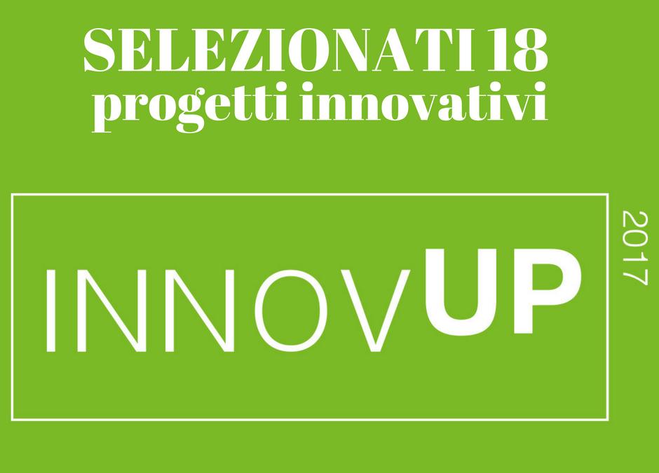 Selezionati 18 progetti innovativi
